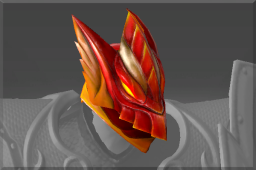 Crimson Wyvern Helm