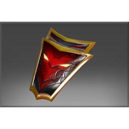 Frozen Crimson Wyvern Shield