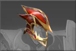 Inscribed Dragonbone Helm of Sir Davion