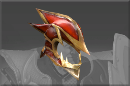 Dragonbone Helm of Sir Davion
