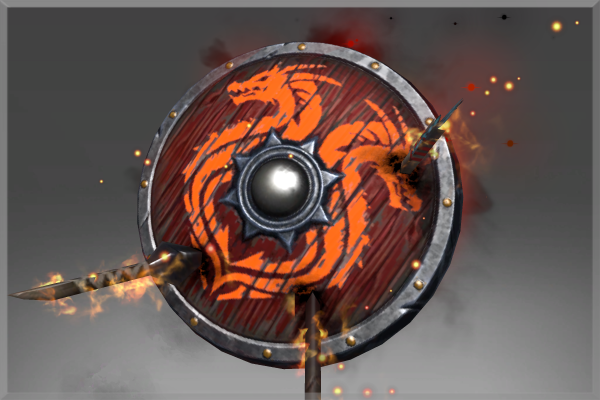 Corrupted Burning Shield of the Outland Ravager