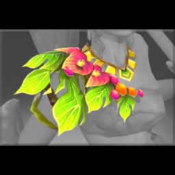 Auspicious Araceae's Tribute Necklace