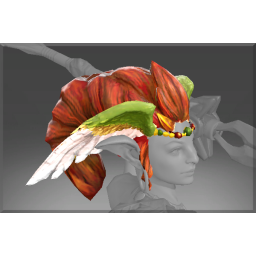 Auspicious Headdress of the Wildwing's Blessing