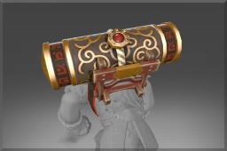 Inscribed Golden Reel Guardian Totem