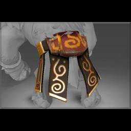 Auspicious Golden Reel Guardian Belt