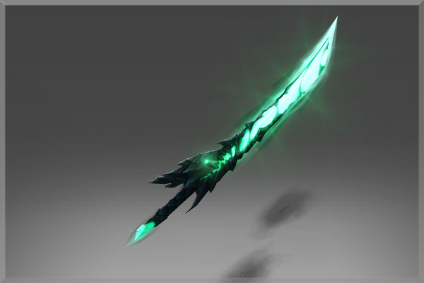 Inscribed Jagged Honor Blade