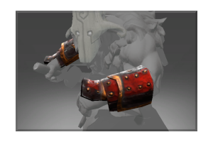 Heroic Sturdy Bracers Of The Exiled Ronin