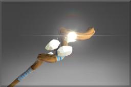 Auspicious Spiral Staff of the First Light