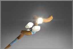 Spiral Staff of the First Light