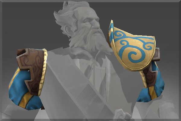 Cursed Claddish Voyager's Elegant Pauldron
