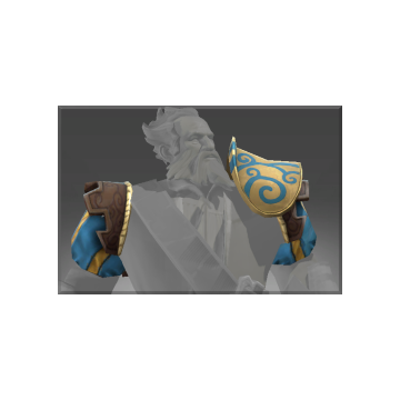 free dota2 item Auspicious Claddish Voyager's Elegant Pauldron