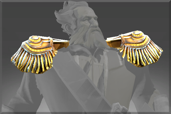 Corrupted Epaulets of the Divine Anchor