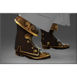 Autographed Boots of the Divine Anchor