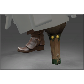 Autographed Pegleg of the Cursed Pirate