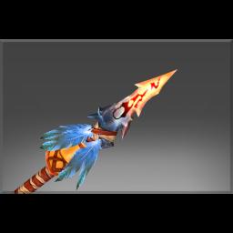 Inscribed Burning Spear
