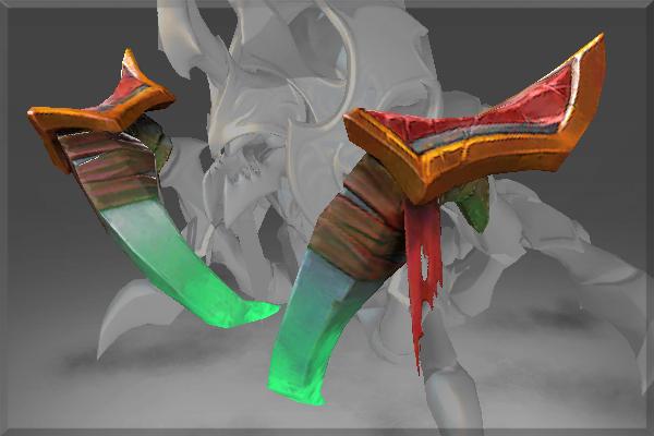 Frozen Sacred Orb Venom Claws