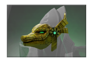Inscribed Moldering Mask Of Ka