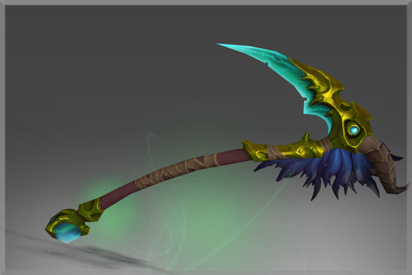 Inscribed Scythe of the Plaguemonger