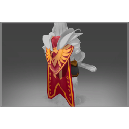 Frozen Winged Paladin's Glorious Cape