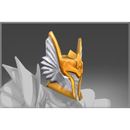 Cursed Winged Paladin's Helm