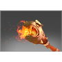 Cursed Flaming Scepter of Ancestral Luck
