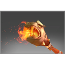 Frozen Flaming Scepter of Ancestral Luck