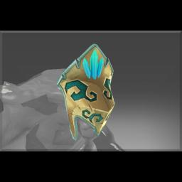 Frozen Ancient Armor Helmet
