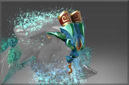 Inscribed Stellar Jade Mask
