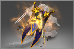 Corrupted Golden Shadow Masquerade