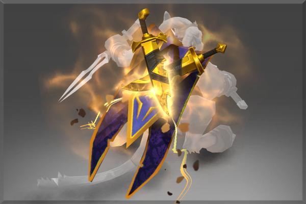 Inscribed Golden Shadow Masquerade