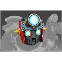 Autographed Searchlight Helm of the Mechanised Pilgrim