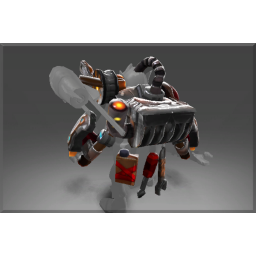 Inscribed Mortar Forge Steam Exoskeleton