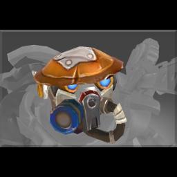 Corrupted Warcog Metal Mask