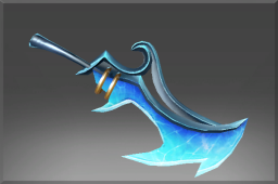 Inscribed Offhand Cutlass of the Iceborn Trinity