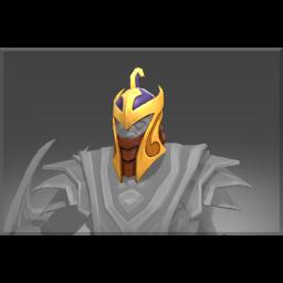 Frozen Helmet of the Silent Champion