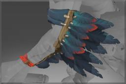 Inscribed True Crow's Wings