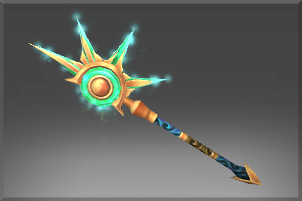 Inscribed Staff of the Crested Dawn