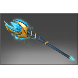Heroic Aethereal Crescent Wand