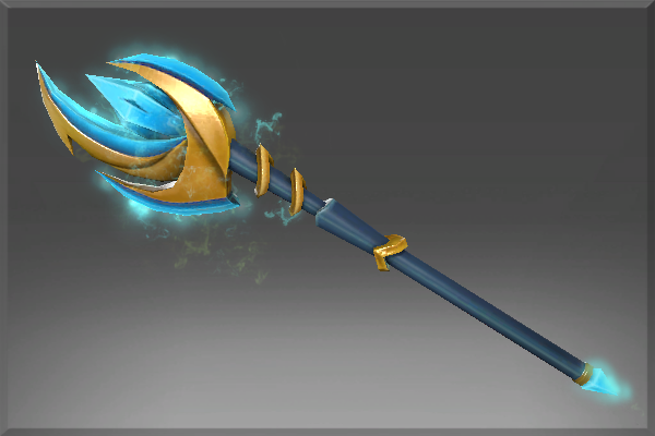 Aethereal Crescent Wand