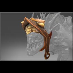 Corrupted Deep Warden's Seized Hood