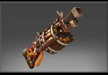 Inscribed Muh Keen Gun