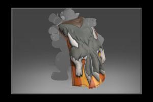 Frozen Pelt Of The Howling Wolf