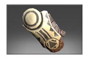 Heroic Bracers Of The Howling Wolf