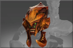 Genuine Skull of the Red Sand Warrior