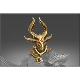 Armature of the Belligerent Ram Helm