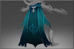 Inscribed Cloak of the Dark Wraith