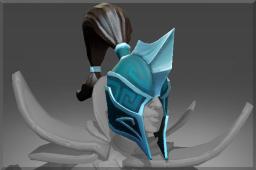 Auspicious Helm of the Dark Wraith