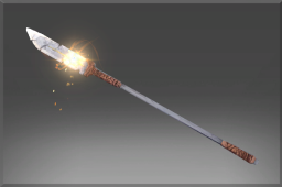 Autographed Lance of the Sunwarrior