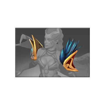 free dota2 item Auspicious Epaulette of Blight
