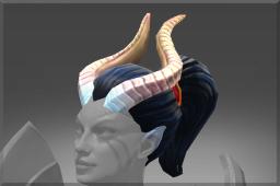 Inscribed Horns of the Dark Angel
